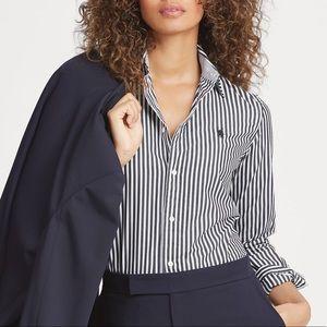 BOGO❗️LAUREN RAULPH LAUREN Non-iron Striped Shirt